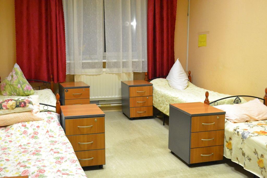 комната пожилого человека