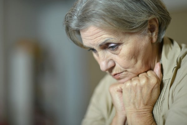 депрессия у бабушки