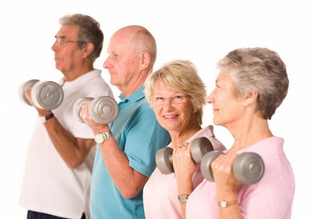 физическая нагрузка для пенсионеров