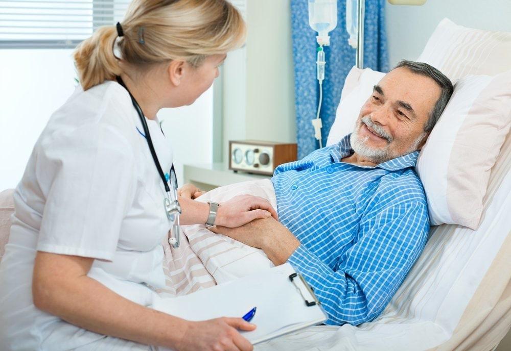 уход за пожилыми в клинике